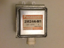 Panasonic Matsushita 2M244-M1 Microwave Oven Magnetron OEM Replacement Part - $39.00