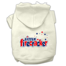 XS DOG HOODIE chihuahua teacup yorkie DOG SWEAT SHIRT LIL FIRECRACKER US... - €10,16 EUR