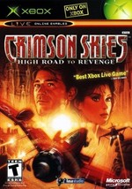 Crimson Skies High Road to Revenge Xbox Great Condition Complete Fast Sh... - $2.75