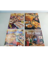 Lot of 4 Taste Of Home Magazines Food Meals Recipes Desserts   AC - $15.73