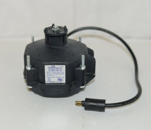 Wellington ECR01A0122 Fan Motor HVAC Part Enclosed Thermally Protected