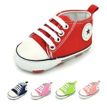 Kids Baby Infant Toddler Shoes Fashion Prewalker Anti slip Canvas Shoes-... - $12.90