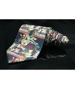Robert Talbott H Stockton Mens Neck Tie Merry Christmas gifts bear train... - $36.47