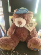 """Boyds Bear ~ Hugh Bear ~ Special Edition ~ Cancer Society ~ 2007 ~ 12"""" Tall - $34.20"""