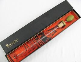 Vintage rX Martini Vermouth Dropper Glass 100ml Pippette in Box - $34.64