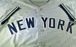 LUIS SEVERINO / NEW YORK YANKEES / AUTOGRAPHED YANKEES GREY CUSTOM JERSEY / COA image 2