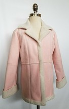 AMERICAN GIRL Faux Suede Pink Jacket Girl's Size 8 - $19.99