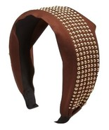 Republic of Pigtails Chocolate Charlotte Girls Wide Headband MSRP $25.00... - $19.99