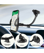 Windshield / Dashboard Flexible Phone Holder Car Mount Lock Lever One To... - $11.99