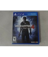 EUC Uncharted 4 Sony Playstation 4 PS4 Game Complete Free Ship - $16.82