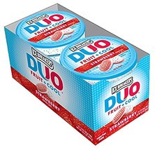 Ice Breakers DUO Fruit & Cool Sugar Free Mints, Strawberry 8 ea - $18.50