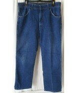 Wrangler 85498PS VTG 1970s Western Cowboy Leisure Jeans Pants Size 36x30... - $19.79