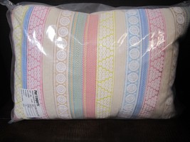 New Pier 1 Large Rectangle Embroidered stripes ... - $29.99