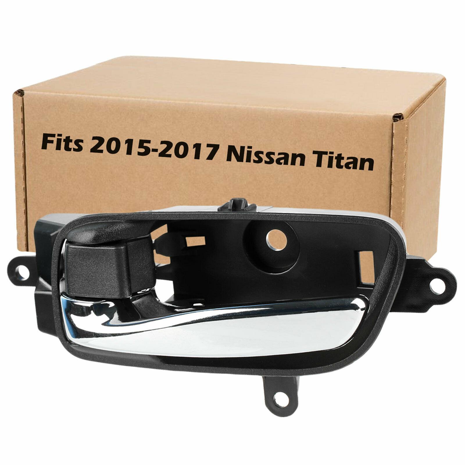 For 2015 2016 2017 Nissan Titan Interior Car Door Handle Front Rear - $9.95