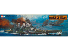 British Battleship Prince of Wales 1/350 Scale Tamiya No.11 Plastic Mode... - $139.79