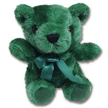 "Plush Teddy Bear - 6"" Hunter Green - ₹1,067.23 INR"