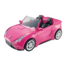 Barbie Estate Vehicle Signature Pink Convertible with Seat Belts - $32.24