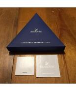 2013 Swarovski Crystal Snowflake Christmas Ornament w/ Box - $96.64