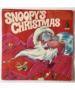 Snoopy's Christmas LP Vinyl Record Album Diplomat Records – SX 1718 - $12.95