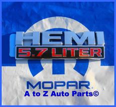 NEW 2013-2016 RAM 1500-2500 5.7 LITER HEMI Fender Nameplate, Emblem, OEM Mopar! - $39.95