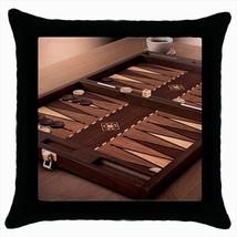 Backgammon Throw Pillow Case - $16.44