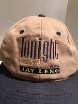 JAY LENO TONIGHT SHOW SNAP BACK VINTAGE KC HAT CAP ONE SIZE ADJUSTABLE  - $18.99
