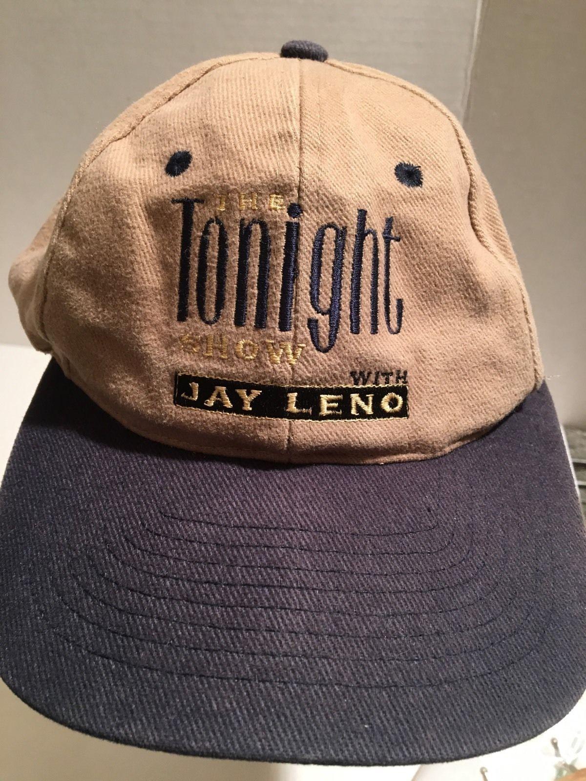 d98e1cd55bca8 JAY LENO TONIGHT SHOW SNAP BACK VINTAGE KC HAT CAP ONE SIZE ADJUSTABLE