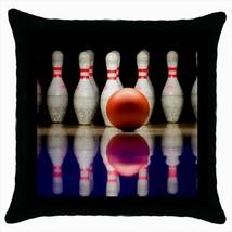 Bowling Throw Pillow Case - $16.44
