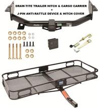 Trailer Hitch Cargo Basket Silent Pin Lock For 13-18 Hyundai Santa Fe 2019 Xl - $383.45