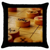 Chinese Chess Throw Pillow Case - $16.44