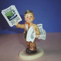 Hummel Goebel Extra Extra! #2113 1st Issue TMK8 Boy Figurine Niagara Falls 2009 - $139.90