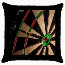 Darts Throw Pillow Case - $16.44