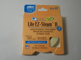"Pellon 1/4"" Lite EZ-Steam II 40 yards - $4.49"