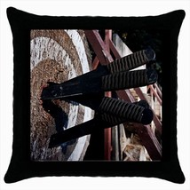 Knife Throwing Throw Pillow Case - ₨1,186.83 INR