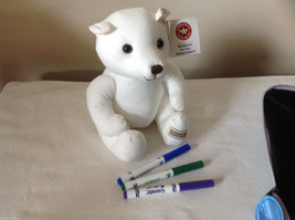 3 pc mixed lot - Teddy Bear with markers, IBM bag, Son Wall Plaque image 6