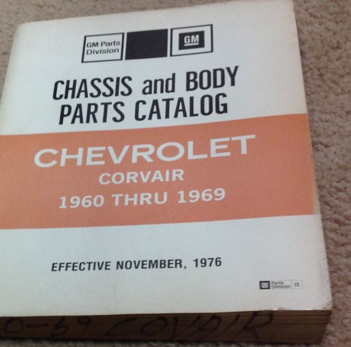 1960 1963 1967 68 1969 GM Chevrolet Corvair and similar items