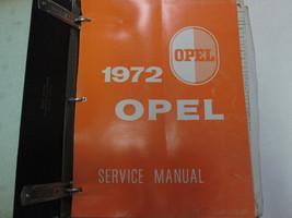1972 OPEL Service Repair Shop Manual Factory OEM Book Used Wear - $47.47