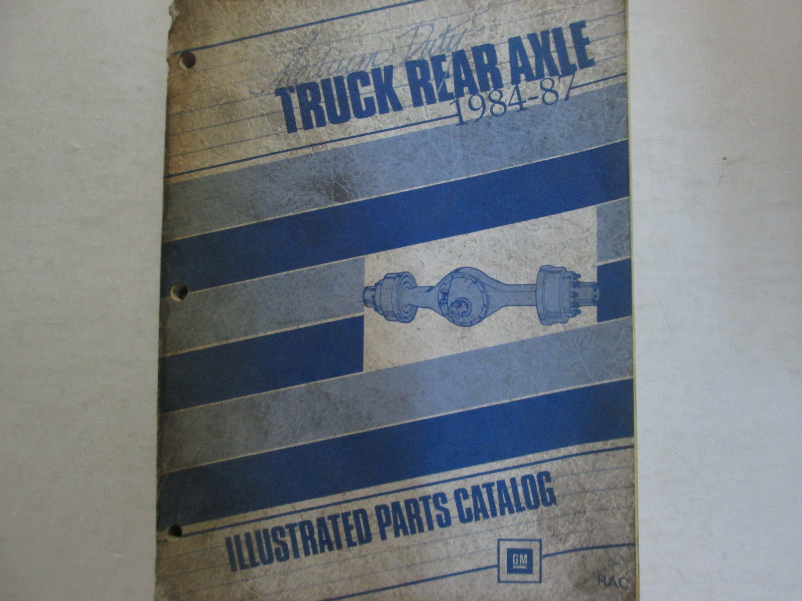 1984 1985 1986 1987 GM TRUCK MEDIUM DUTY REAR AXLE PARTS Catalog Manual OEM Book