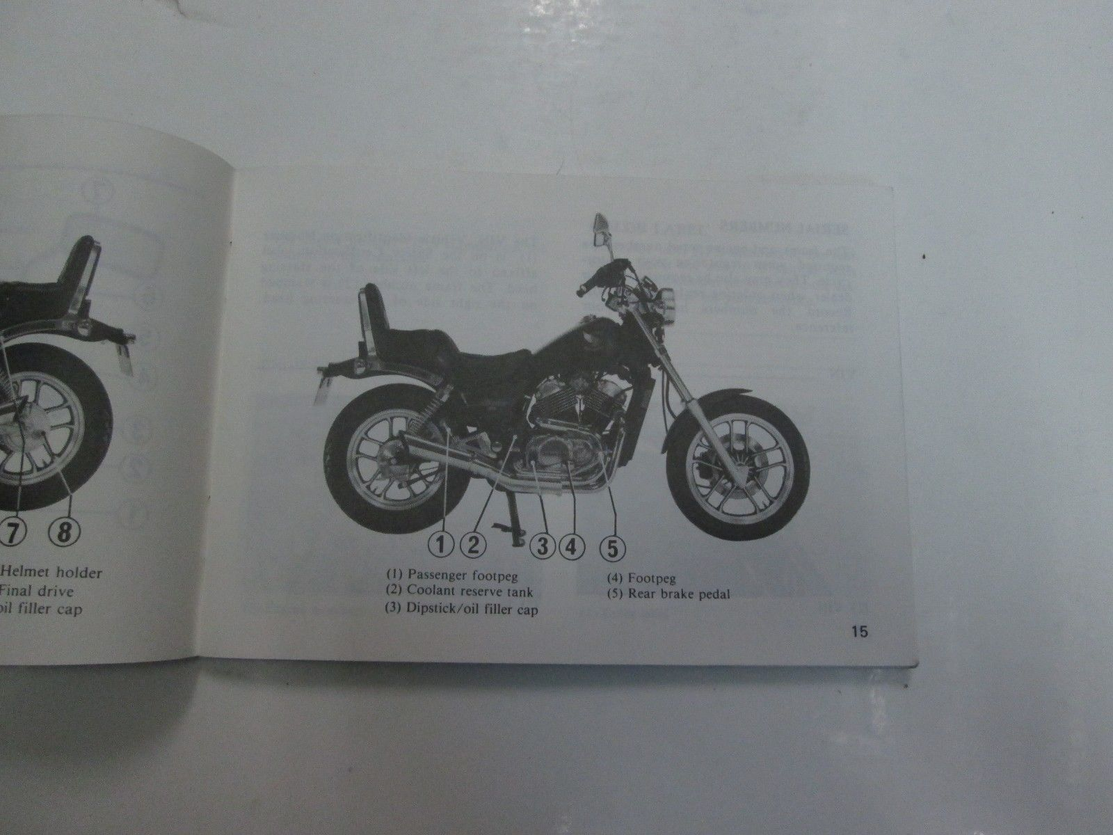 ... 1985 Honda VT500C Shadow 500 Owners Manual FADING WEAR FACTORY OEM BOOK  85 ** ...