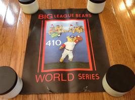 "Vintage 1984 Big League Bears World Series 11""x14"" Poster"