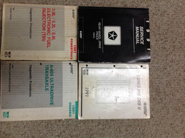 1991 Dodge DAKOTA TRUCK Service Repair Shop Manual Set W Diagnostic Books OEM - $89.09