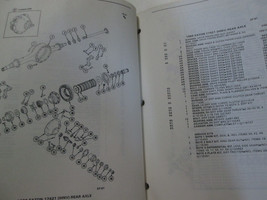 1984 1985 1986 1987 GM TRUCK MEDIUM DUTY REAR AXLE PARTS Catalog Manual OEM Book image 6