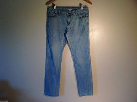 Womens Forever 21 Size US 29 Light Blue Distressed Straight Leg Jeans