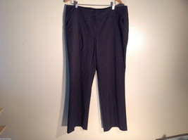 Womens Apt. 9 Black Dot Pattern Size 18 Casual/Dress Pants Curvy Excellent - $34.64