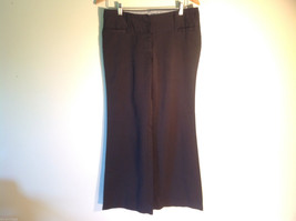 Womens Charlotte Russe Size 8L Black Low Rise Dress Pants/Slacks Flared Legs
