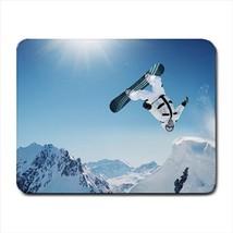 Snowboarding Mousepad (Neoprene Non-slip Mousemat) - $7.71