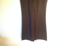 Womens Charlotte Russe Size 8L Black Low Rise Dress Pants/Slacks Flared Legs image 3