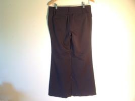 Womens Charlotte Russe Size 8L Black Low Rise Dress Pants/Slacks Flared Legs image 4