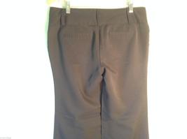 Womens Charlotte Russe Size 8L Black Low Rise Dress Pants/Slacks Flared Legs image 5