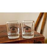 Pair Of Jack Daniels Daniel's No.7 Whiskey Bar Rock Glass barware (t14) - $19.00